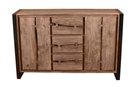 SIT Möbel NATURAL EDGE Sideboard 140 x 40 cm | 11803-01