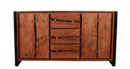 SIT Möbel NATURAL EDGE Sideboard 200 x 40 cm | 11813-01