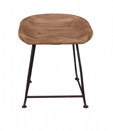 SIT Möbel NATURAL EDGE Hocker 42 x 38 cm | 11845-01